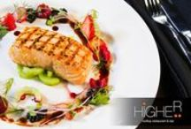 Dinner at Higher Phuket / Higher Phuket is a great venue for dining under the stars, rooftop restaurant and bar above Seduction Nightclub.