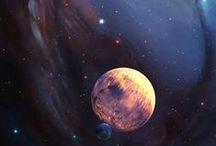 Universo / Galaxias, colores, arte, espacio y estrellas D: