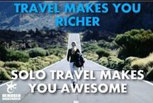 Travel Quotes And Inspiration / Travel quotes that will inspire you to travel more.