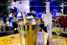Coctails and Drinks / Coctails and drinks Higher Phuket Rooftop Restaurant and Bar Patong Phuket Thailand