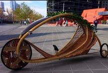Willow & Bamboo / Structures, architecture, bikes, trikes, baskets and art made out of willow and bamboo