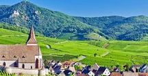 Alsace. Route des vins.