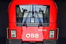 Österreich. Eisenbahnen. ÖBB.
