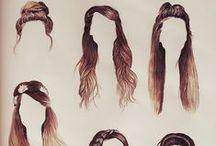 ∆ Hair ∆ / Sweet hair. / by Vanessa Vanya