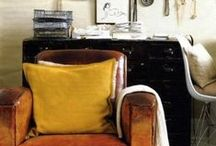 real men love interior design  / Masculine spaces worthy of the men in our life.