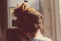 hair. / by Courtney Geilenfeldt // [Dwell & Gather]