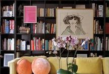 bookworms unite!  / We've got a serious soft spot for reading nooks and book collections.