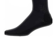 Diabetic Socks / Dr. William Scholl, the founder of Dr. Scholl's was a shoe repair boy during his earlier years. After earning a degree in medicine, he combined his expertise in shoes and medical knowledge to start a company that specializes in foot care socks. Today, Dr. Scholl's continues to advance the science of foot care socks. For people who have diabetes, it is important to wear socks that protect the feet from injury and at the same time, do not impede circulation.