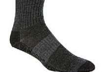 Double Layer Socks / For people looking for socks that can help keep feet dry and comfortable even after high-intensity activities, double layer socks are the perfect choice. These socks are made of two fabrics where the inner layer wicks moisture away from the feet while the outer layer serves as an area for sweat to evaporate. The double layer design also offers extra support, comfort and protection to prevent blisters.