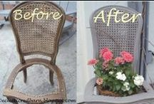Garden Ideas/Decor / Creating things for your garden and then taking care of it with plant food.