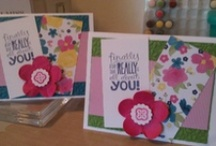 SU Demonstrator-Valerie cards/projects / Stampin Up Only ...my projects either I made or Cased...Cards..fun ideas.. / by Valerie Beary