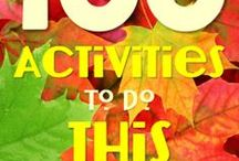 Fun Family Friendly Fall Activities / Great ideas to do with the whole family during the fall season.