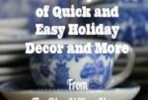 31 Days of Quick and Easy Holiday Decor and More
