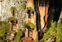 Fairy Fantasies / Everything Fairy...fairy homes, gardens, doors, furniture...