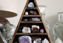 Crystals + Gems / crystals and precious stones