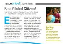Activity Sheets / Teach about global topics ranging from child labor to nutrition with these activity sheets.