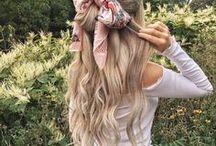 Hair / Inspiration for hair styles.