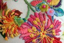 kirjonta - embroidery / by Saima