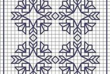 patterns blackwork / by Saima