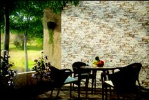 Tiles for Outdoor area / Floor and Wall tiles for Outdoor Area.  Tiles from NITCO Limited, Mumbai.