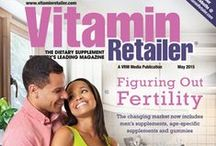 Vitamin Retailer Magazine Covers / Monthly covers of our previous and current issues