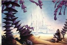 Matthews / The incredible places inside Rodney Matthews' imagination!