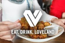 Eat, Drink, Loveland / With more than 190 restaurants that cater to distinct palates and dining preferences, Loveland offers delectable cuisine and varied options for dining you love. http://www.visitlovelandco.org/discover-loveland/business-category/dine-drink/