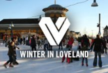 Winter in Loveland / Loveland becomes a beautiful winter destination when the snow starts to fall.