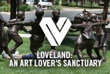 Loveland: An Art Lover's Sanctuary / Loveland has long embraced art as a major part of its community. Today, more than 300 public works of art including 200 bronze sculptures valued at almost $9 million are on display around Loveland and visitors can find locally produced paintings, photographs and designs weaved throughout the city.