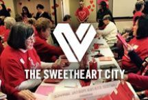 The Sweetheart City / In the nation's Sweetheart City, Loveland, Colorado, Valentine's Day is more than a day – it is a celebration of Everything You Love. Here, romantic heart-shaped love notes dot the streets. Fire and ice intersect for a romantic getaway. Local craft brews are transformed into love potion. Loveland is a great Valentine's Day getaway for romantics, families and friends.