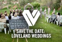 Save the Date: Loveland Weddings / Loveland, Colorado, also known as the nation's 'Sweetheart City', has emerged as a unique and romantic wedding destination. Local wedding professionals offer a bouquet of options to meet brides' desires.