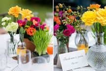 Garrafinhas / Enfeites para mesa dos convidados