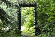 Garden Gates - Garden Gates and Doors / Artistic, creative, beautiful, and unusual garden entrances.