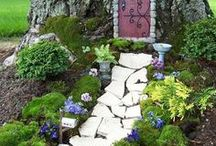 Invite Magic to Your Garden - Fairy Garden / The best fairy garden ideas for the magical beings that share your outdoor space.