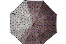 Parapluie changement de couleur / Parapluie qui change de couleur lorsqu'il se met à pleuvoir