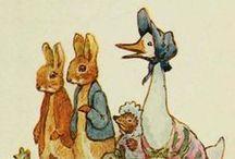 Królik, myszki, kotki i tp...powiastki B.Potter / Powiastki, rysunki, książki, bajki