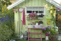 """Kuckó Design - Női birodalom a kertben, avagy """"She Shed""""! :) (Women's Empire in the Garden)"""