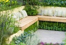 A Welcome Summer Day - Edible Garden Landscape / Find yourself lost in thought, meandering in and out of the summer sun as you explore endless gardens planted with a vast assortment of edible and medicinal treasures.