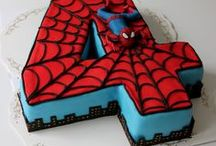 Spider-man Party Ideas / Partymazing ideas for your kid's Spider Man party. Your Kid will love it. Here are some ideas for games, decor, food, and favors.