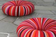 cushon, pillow & pouf / by popo pon