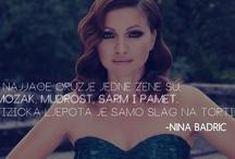 Nina Badrić QUOTES