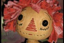 Handgemaakte Ragged Dolls en andere poppen / by Thea Seuntiëns