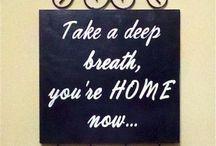 Home sweet home / Home sweet home