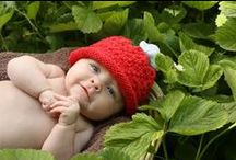 The Strawberry Patch / Delicious strawberry patterns for babies. Sharing inspirational baby clothes and styles.