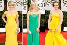 Golden Globes 2014: Biggest Red Carpet Fashion Trends / #goldenglobes #redcarpet #hollywood #awards #fashion #beauty