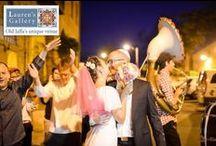 Wedding Parade / Walking to the Hoopa at Old Jaffa alleys, Israel תהלוכות החופה המדהימות של גלריית לורנס