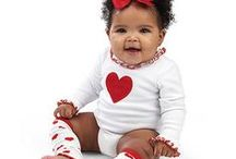 We ♥HEART♥ Babies / For babies with love! Heart patterned baby clothes and styles.