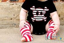 Babies With Attitude / Babies rocking skulls, bones and camo prints. Sharing inspirational baby clothes and styles.