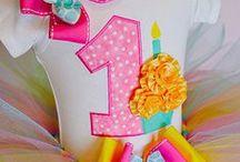 Baby's First Birthday / 1st birthday themed baby stuff