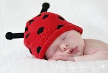 Little Ladybug / Babies in black, red and polka dots. Sharing inspriational baby clothes and styles.